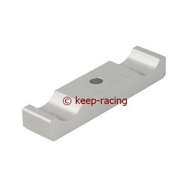 aluminium lower bracket 30x92mm, aluminium anodized