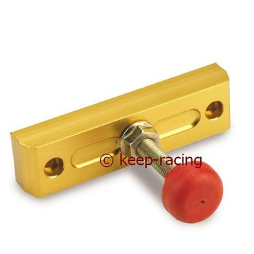 chain stretcher, gold anodized