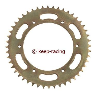 rearsprocket 46t, pitch 428, steel