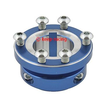 blue anodized aluminium sprocket carrier 40mm for 125cc for sprocket kc400