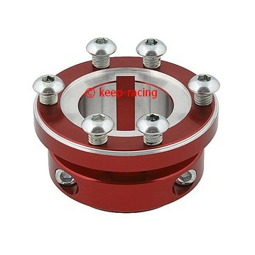 red anodized aluminium sprocket carrier 40mm for 125cc for sprocket kc400