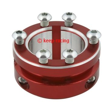 red anodized aluminium sprocket carrier 50mm for 125cc for sprocket kc400