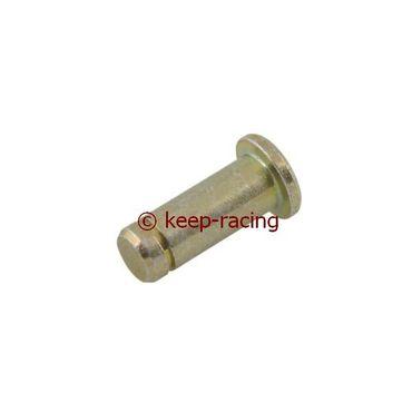Zapfen 6mm für Gabel, gold verzinkt
