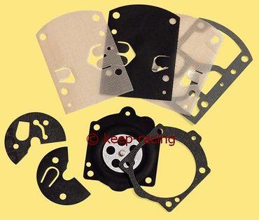 kit of packings + membranes for walbro carburettors