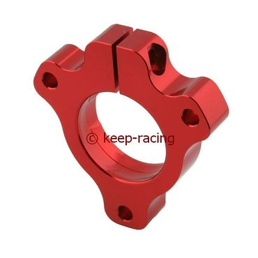 adjustable aluminium housing for 25mm axle bearing red anodized