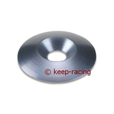 aluminium countersunk washer 34 x 8mm, titanium anodized