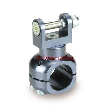 Halterung für Wasserpumpe 28mm, titan eloxiert