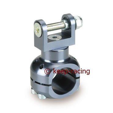 Halterung für Wasserpumpe 32mm, titan eloxiert