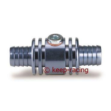Adapter / Anschlußstück für Wassersonde (M10x1mm), Aluminium, titan eloxiert