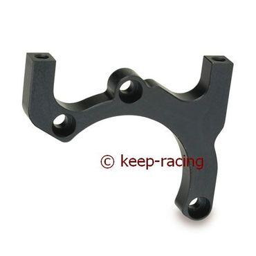 aluminium brake caliper support r100/125-4p black anodized
