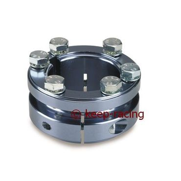 titanium anodized aluminium sprocket carrier 40mm for 125cc