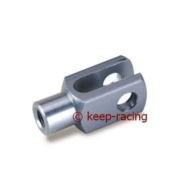 titanium anodized aluminium fork m6, 24mm