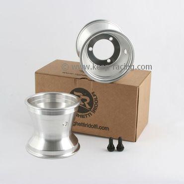 5 Zoll Aluminiumfelgen, Satz, 125mm, 67mm Lochabstand