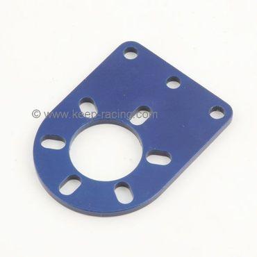 Halterung für Handbremszylinder, blau eloxiert
