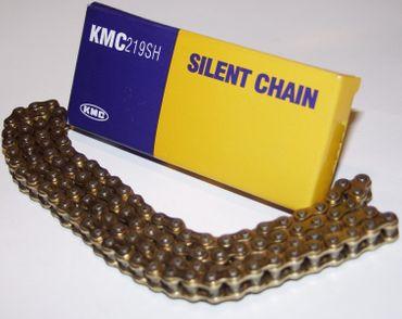 KMC Kartkette Silent Chain, 219er GOLD/GOLD, 108 Glieder