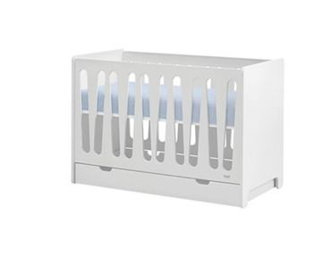 Babybett Moon 120 x 60 Weiß Kinderbett von Pinio 015-010-110 | Coronio – Bild 4