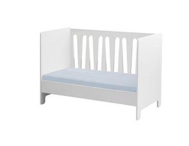 Kinderbett Moon 140 x 70 Umbaubar Weiß 015-011-110 | Coronio – Bild 1