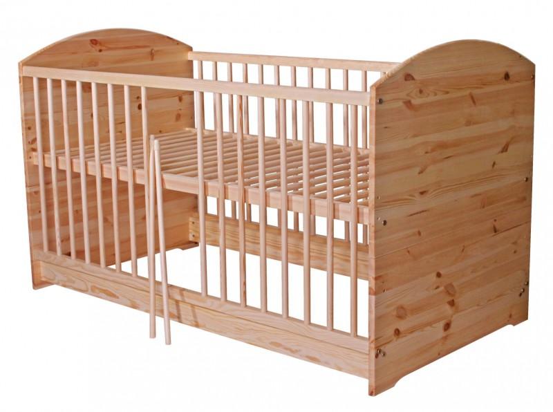 2 In 1 Kinderbett 140 X 70 Umbaubar Zum Juniorbett Holz
