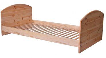 2 in 1 Kinderbett 140 x 70 Umbaubar zum Juniorbett Holz Kiefer | Coronio – Bild 2