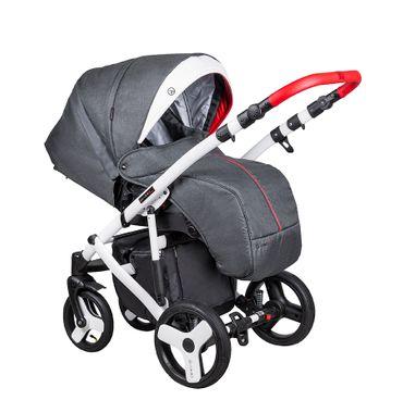 Kinderwagen Coletto Florino FN 02 Carbon mit Sportaufsatz – Bild 2