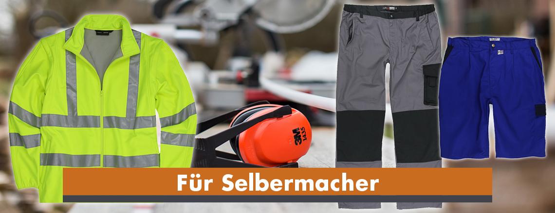 Arbeitskleidung in großen Größen - Herrenmode in Übergrößen