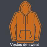 Vestes Sweat