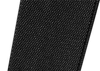 Image de détail de Bretelles noir de Lindenmann // surlongueur 130 cm - 150 cm