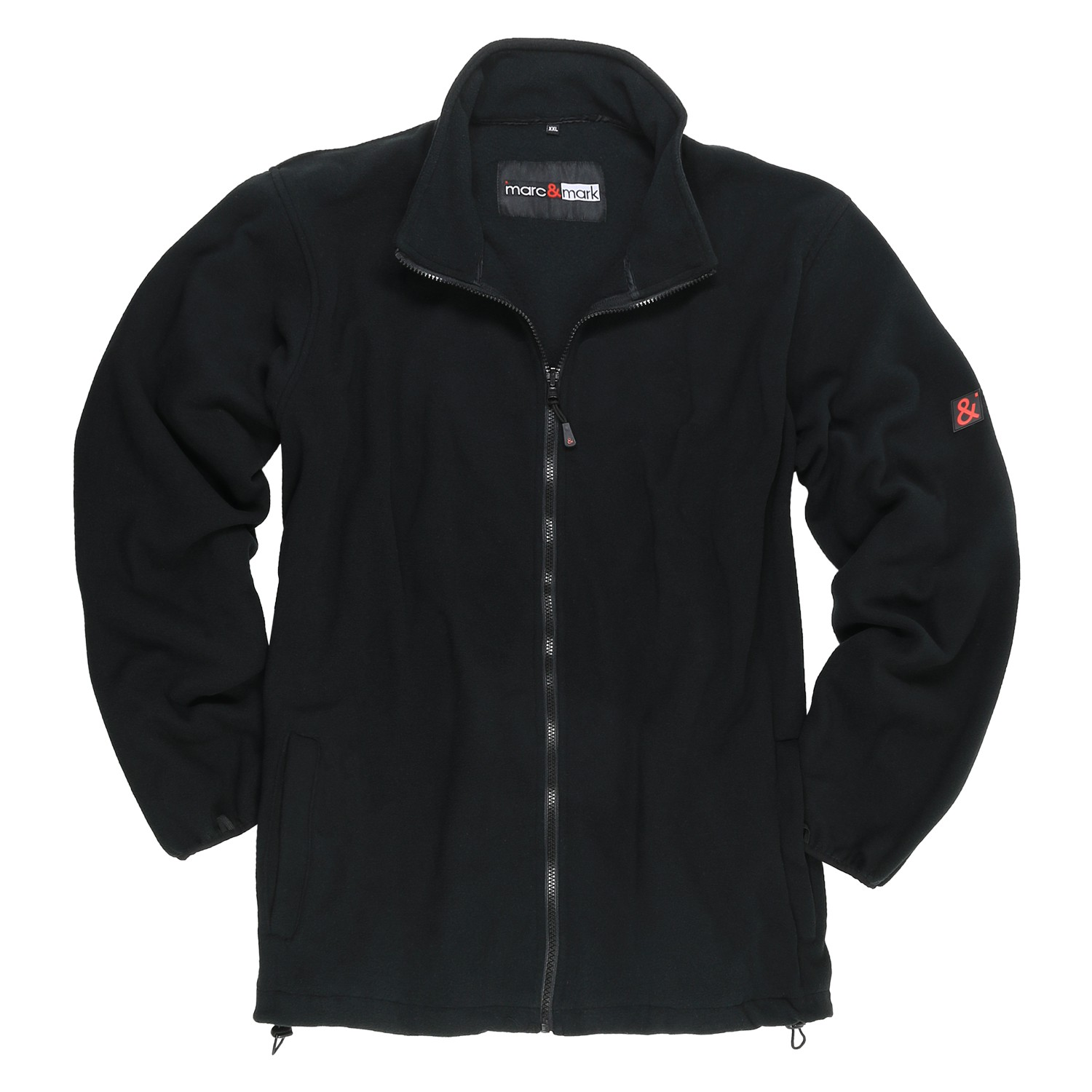 Detail Image to Black 3in1 jacket by marc&mark in oversizes up to 12XL