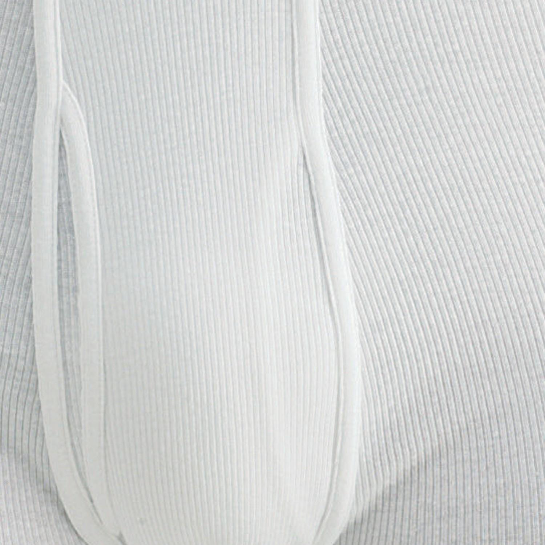 Image de détail de Caleçon blanc côte double / Kapart grandes tailles jusqu'à 14