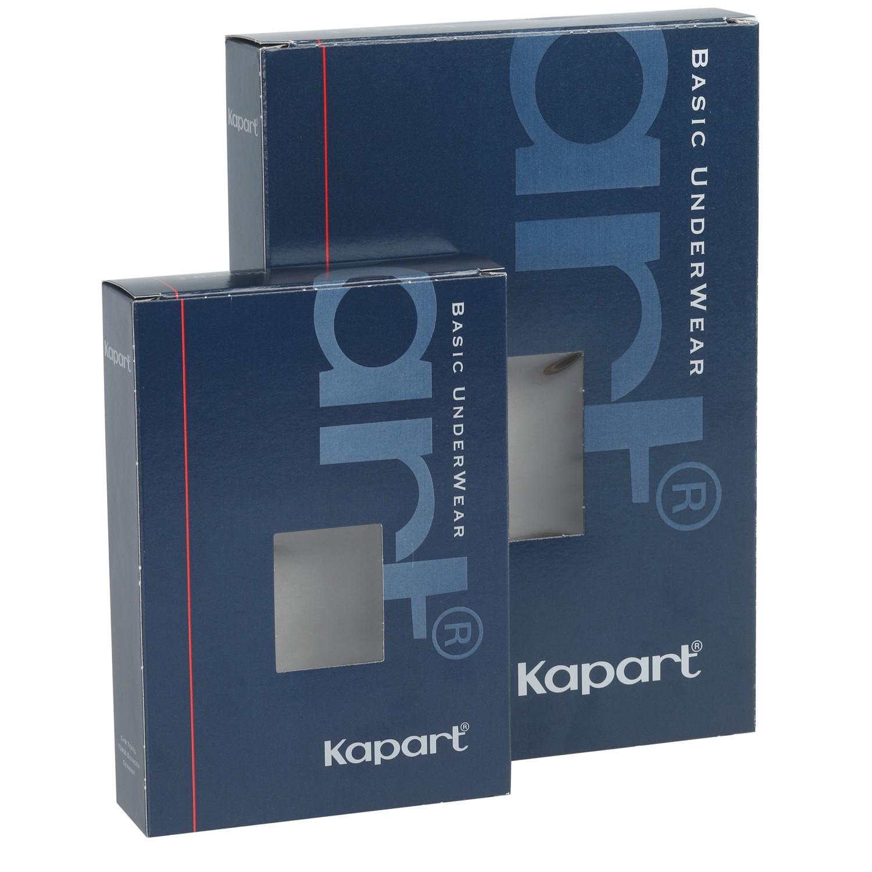 Image de détail de Caleçon côte fine bleu marine de Kapart // grandes tailles jusqu'à 20