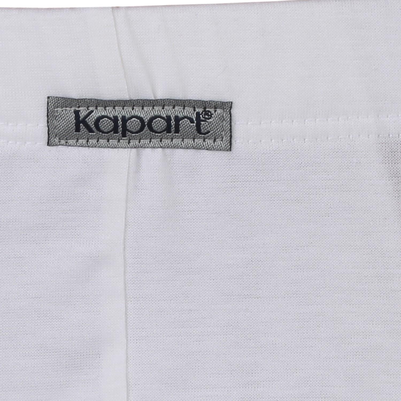 """Image de détail de Slip brésilien """"Fano"""" blanc de Kapart // grandes tailles jusqu'à 14"""