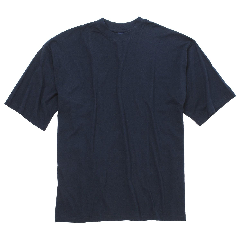 Image de détail de T-shirt bleu marine de Kapart // grandes tailles jusqu'au 8XL