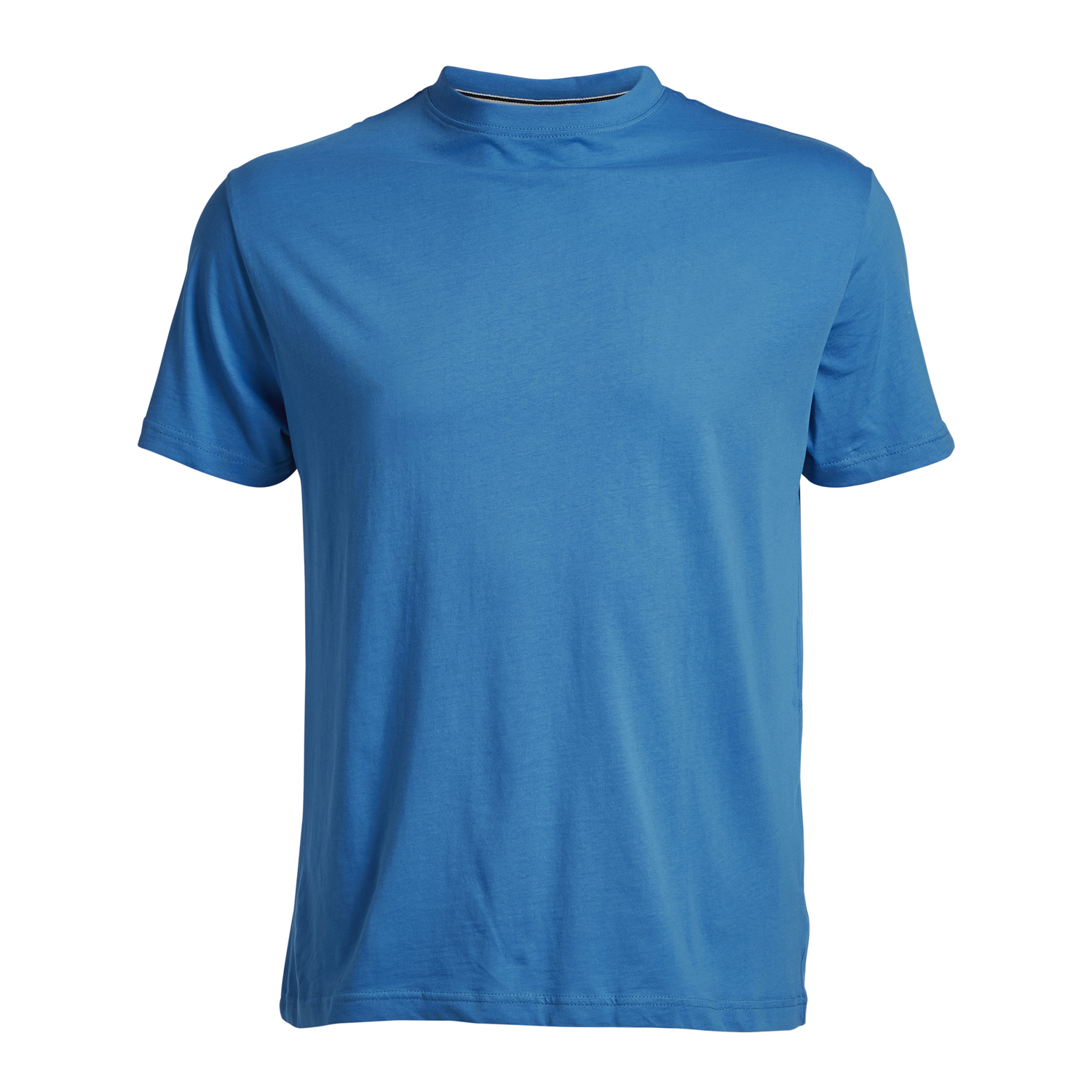 Detail Image to Blue basic t-shirt by North56°4 in oversizes up to 8XL