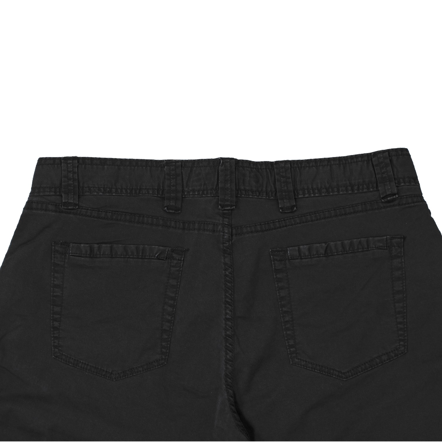 Detail Image to Pocket pants in black by Greyes in plus sizes until 64