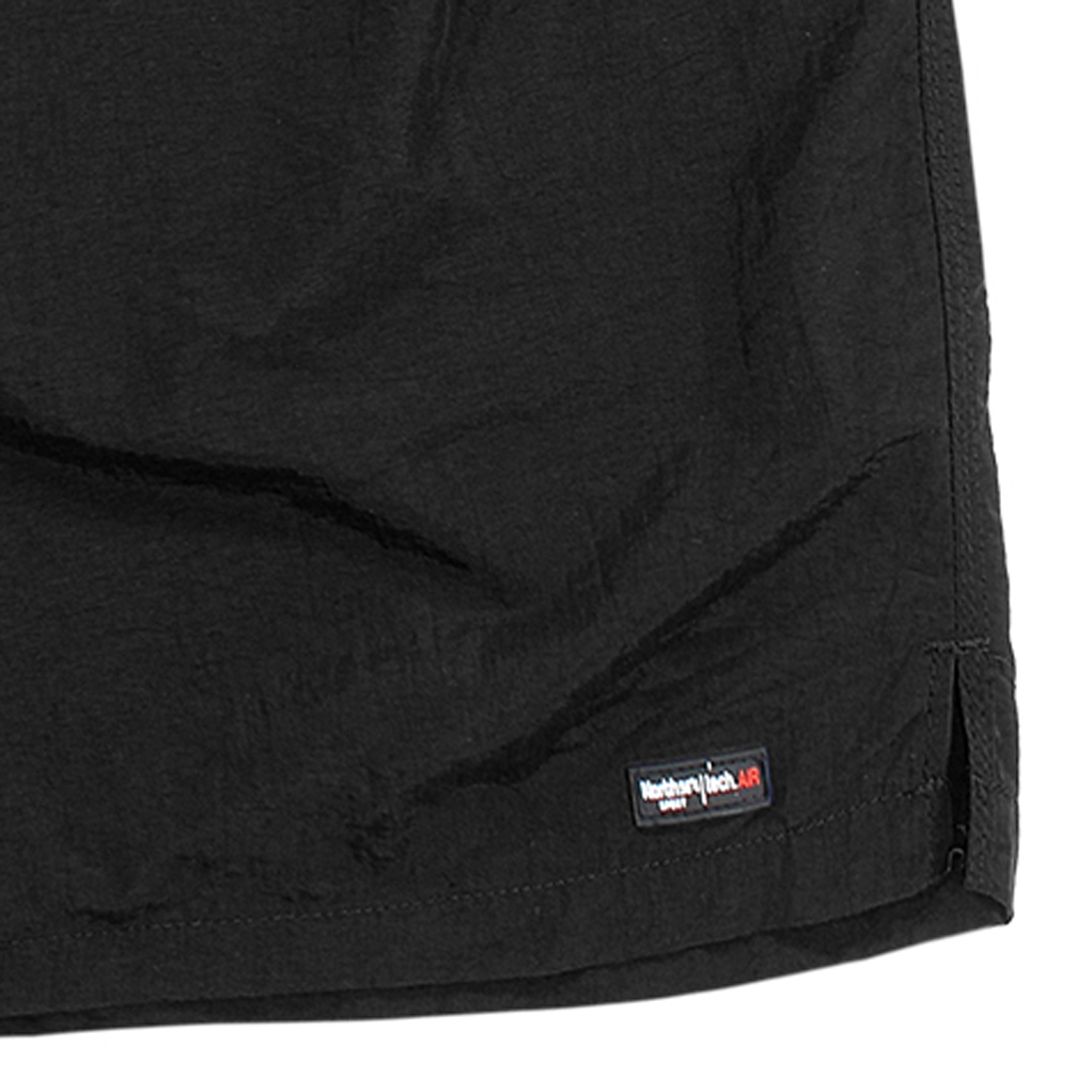 Detail Image to Swimming trunks in black by aero/North 56°4 up to oversize 8XL