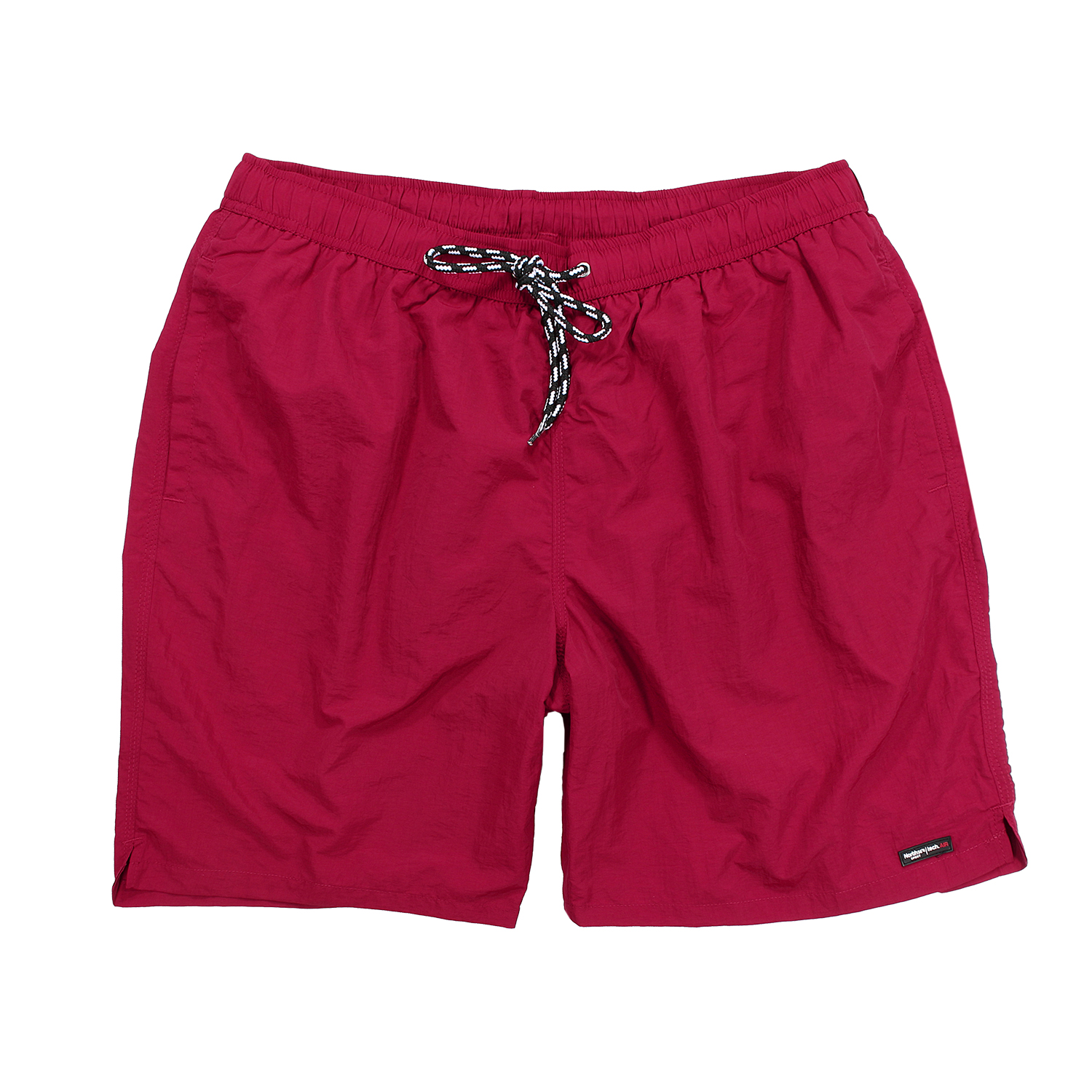 Detail Image to Red swimming trunks by Greyes in extra large sizes up to 8XL