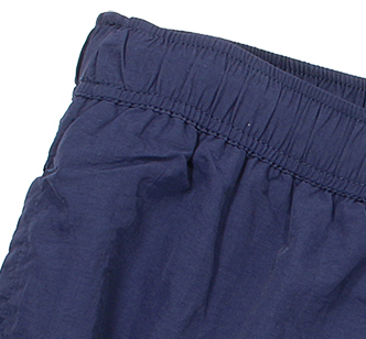 Detail Image to Swimming trunks in dark blue by aero/North 56°4 in plus sizes up to 8XL