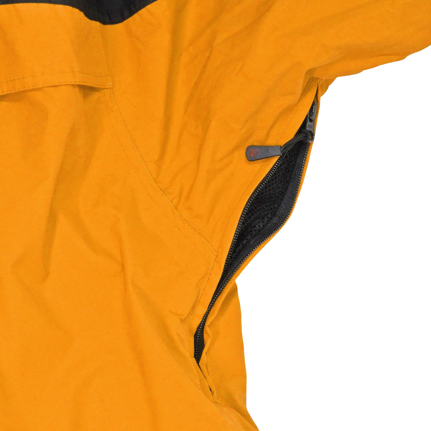 Detail Image to 3in1 jacket in orange by marc&mark in oversizes up to 10XL