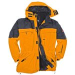 3in1 jacket in orange by marc&mark in oversizes up to 10XL