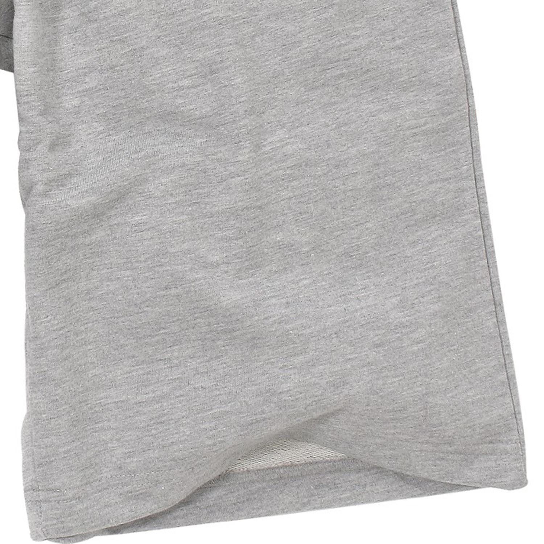 Detailbild zu Graumelierte Herren Basic Sweat Bermuda von Ahorn Sportswear in großen Größen bis 10XL