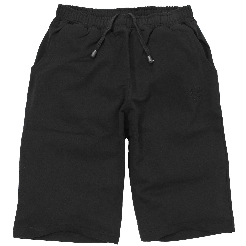 Detailbild zu Sweat Bermuda in schwarz für Herren von Ahorn Sportswear in großen Größen bis 10XL