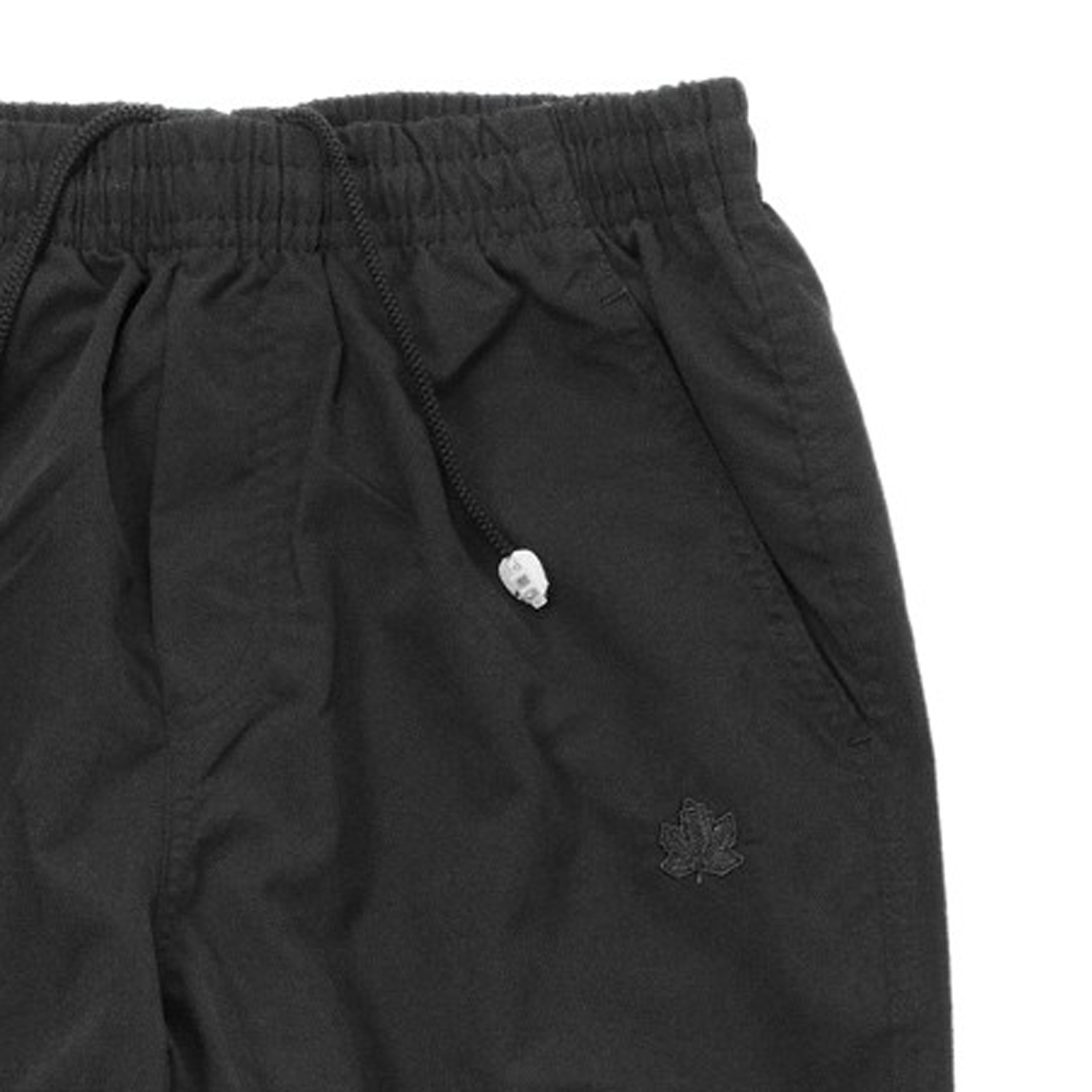 Detail Image to Micro fitness pants in black from Ahorn Sportswear in large sizes up to 10 XL