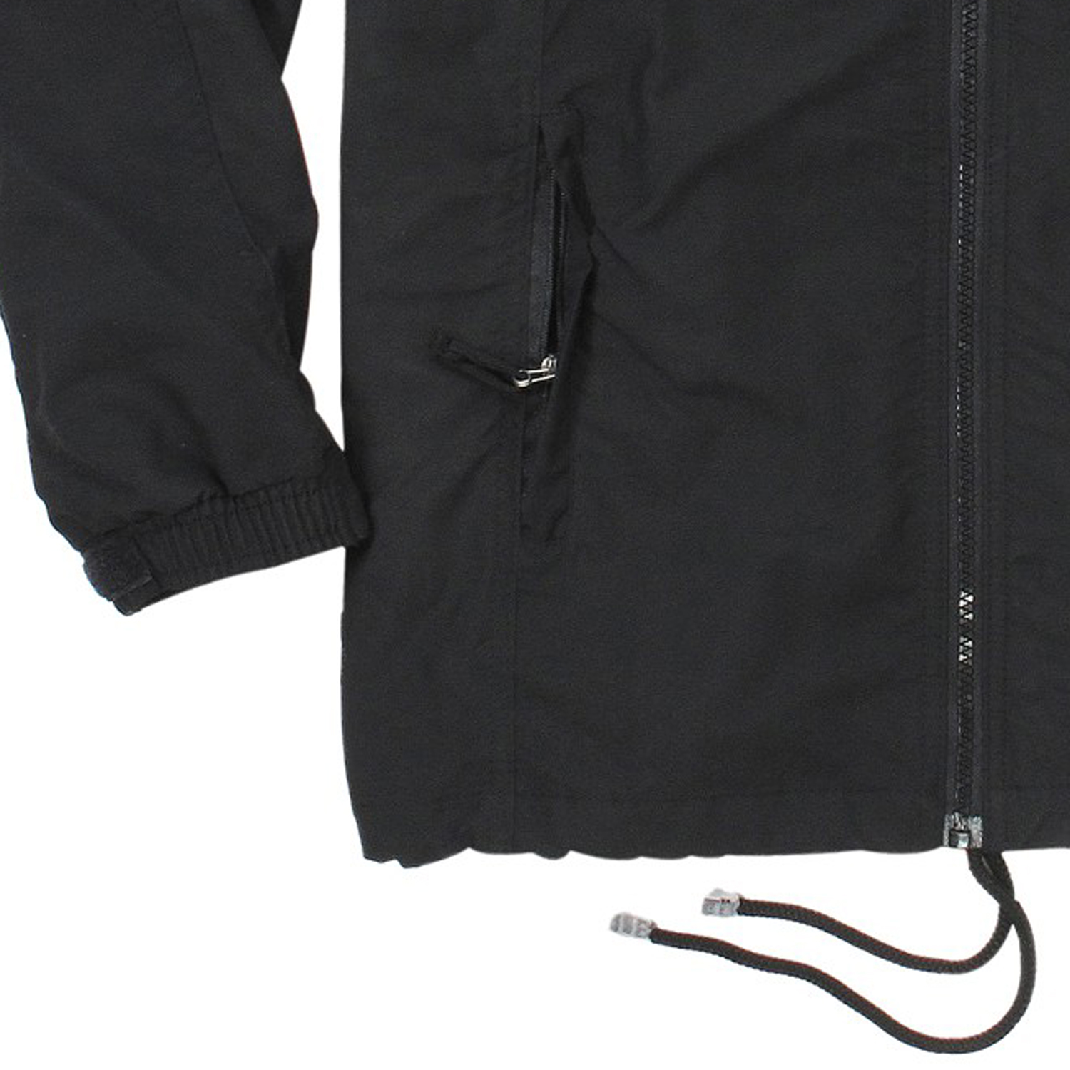 Detail Image to Micro fitness jacket in black by Ahorn Sportswear up to oversize 10XL