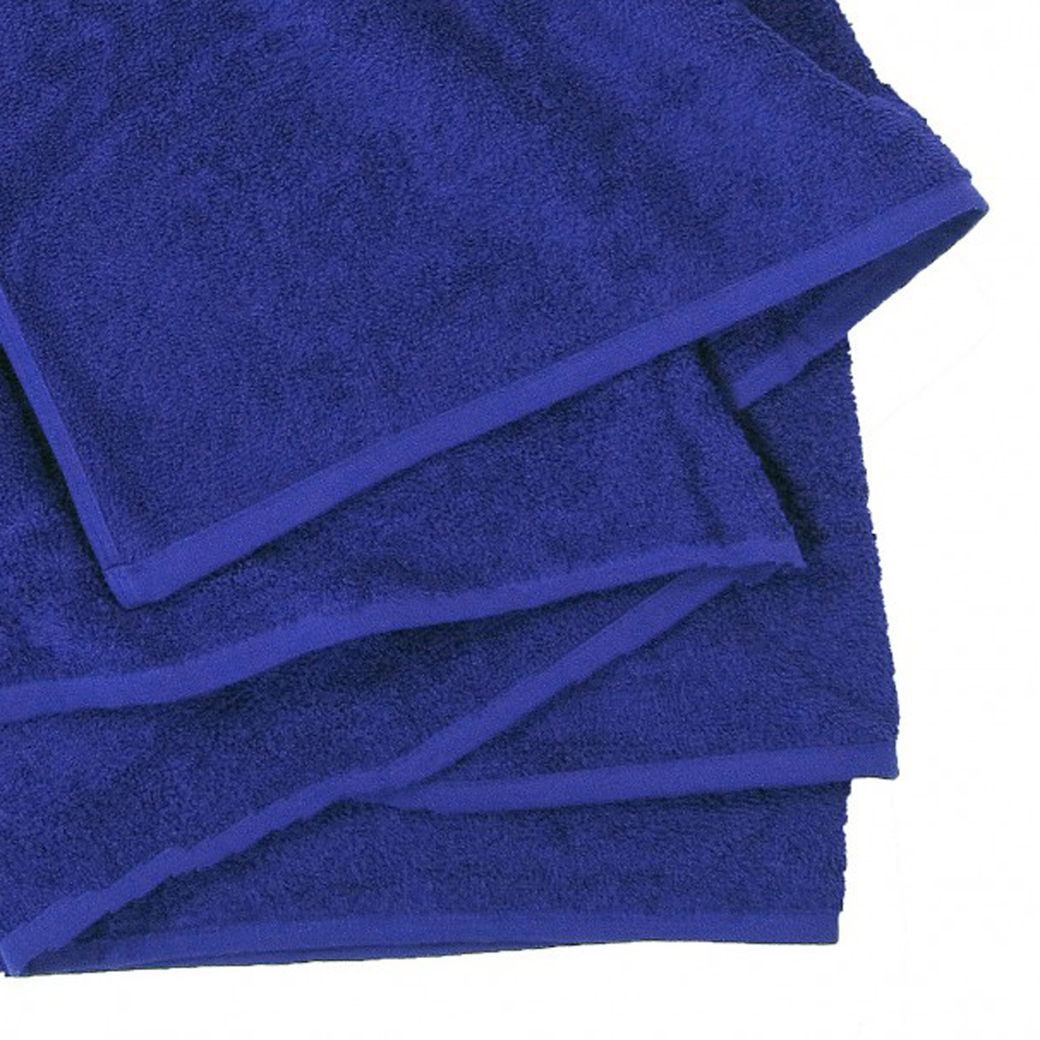 Detail Image to Royal blue towel by Felawie in oversize 155 x 220 cm