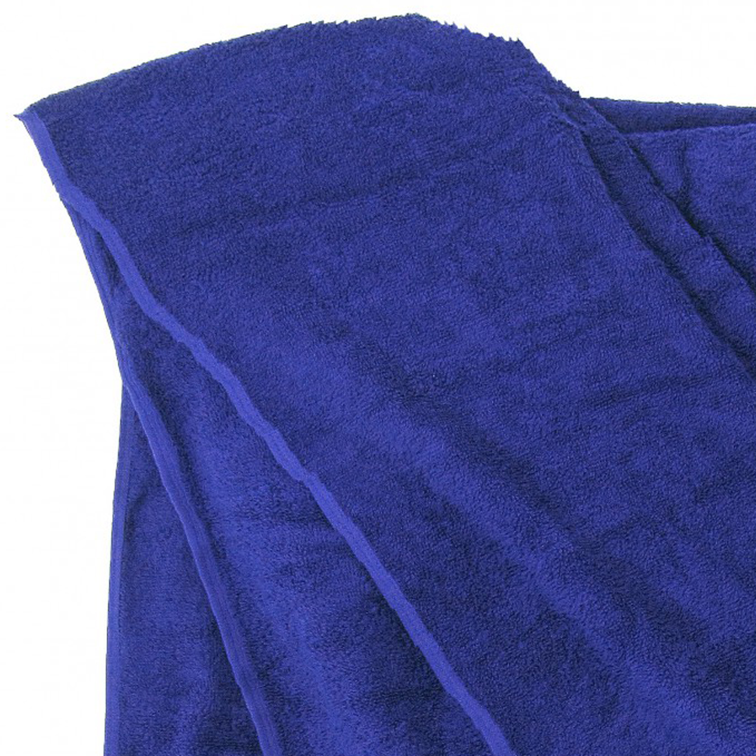 Detail Image to Bath towel in royal blue by Kapart in large sizes 100x220 cm and 155x220 cm