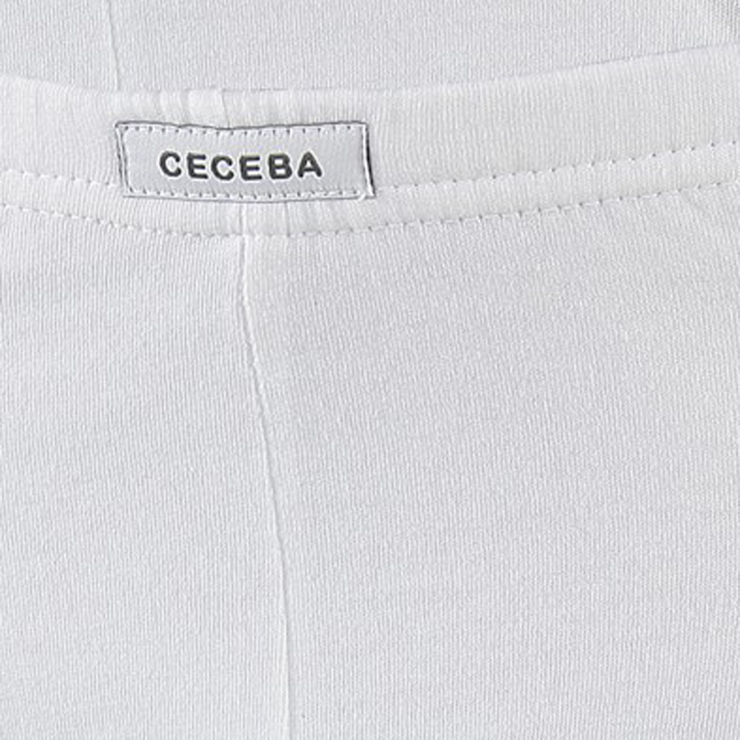 Detail Image to Briefs in white by Ceceba up to oversize 18 / pack of 3