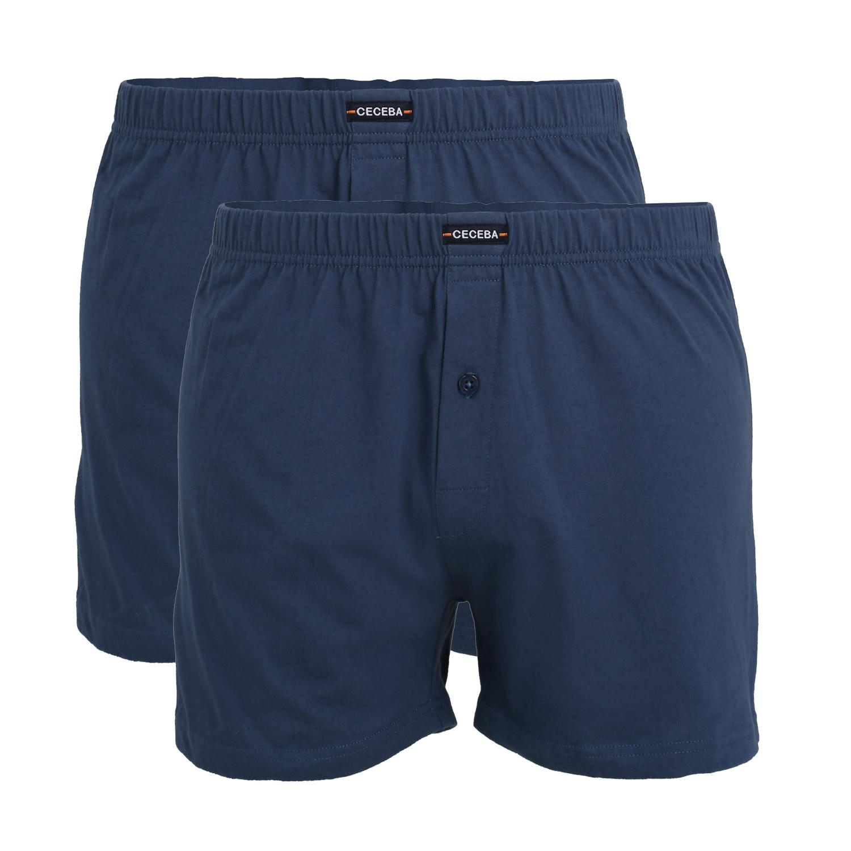 Detailbild zu Übergrößen Boxershort in blau von Ceceba bis Wäschegröße 18 - Doppelpack