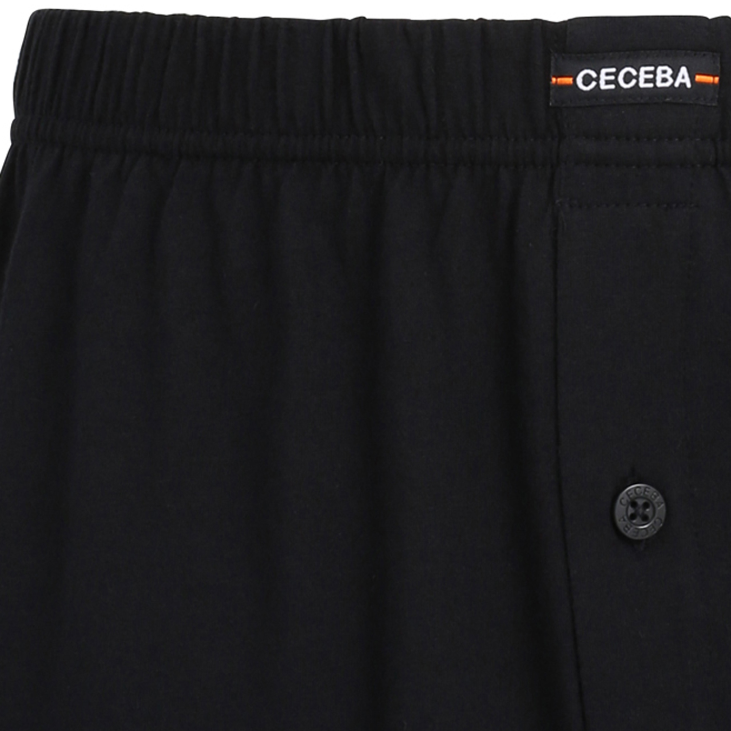 Detail Image to Boxershorts in black by Ceceba up to oversize 18- double pack