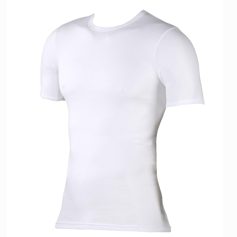 Detailbild zu Weißes T-Shirt aus Feinripp von Kapart in Übergrößen bis 20