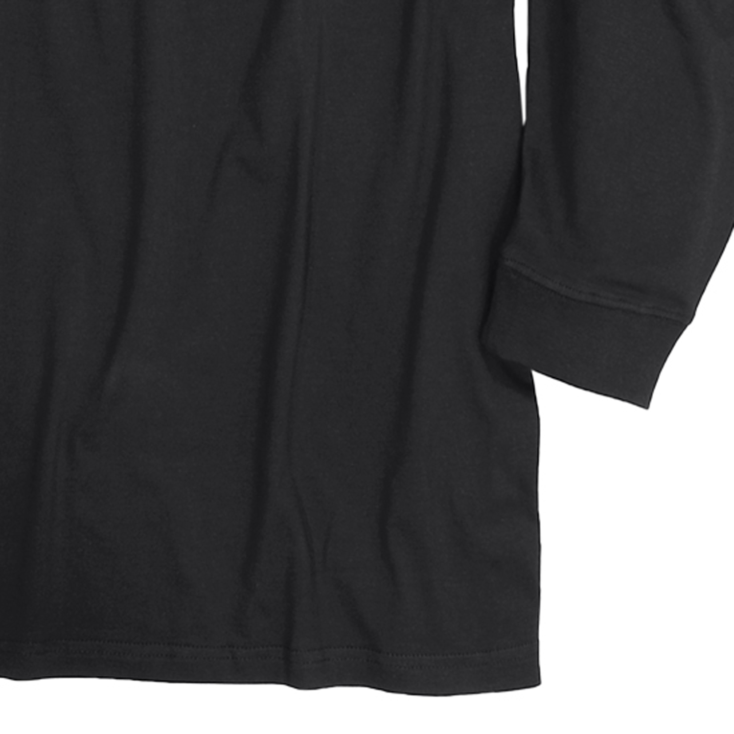Detail Image to Black roll neck by Redfield in extra large sizes until 6XL